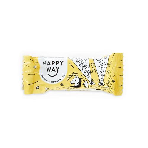 Happy Way Banana Bang All Natural Snack Bar 30g