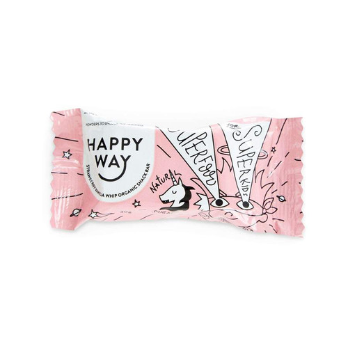 Happy Way Strawberry Whip All Natural Snack Bar 30g