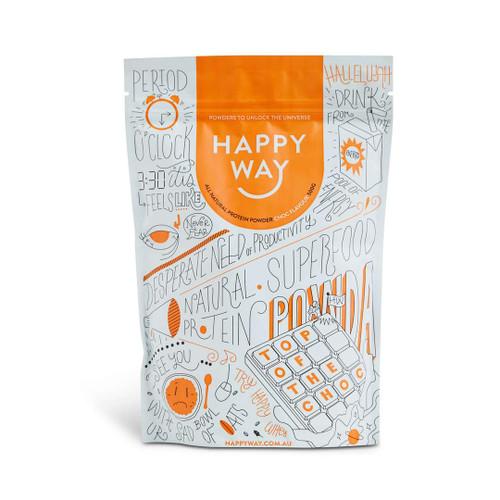 Happy Way Top of the Choc Whey Protein Powder 60g