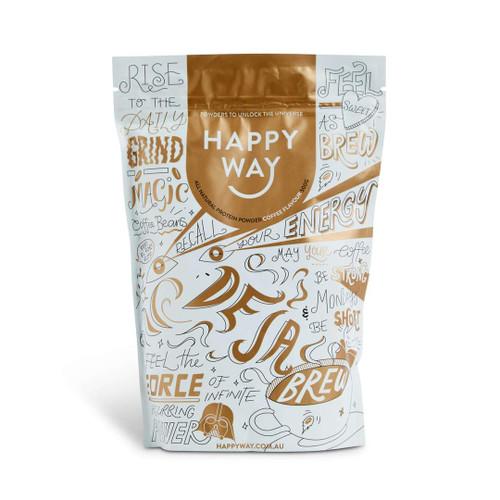 Happy Way De Ja Brew Coffee Protein Powder 60g