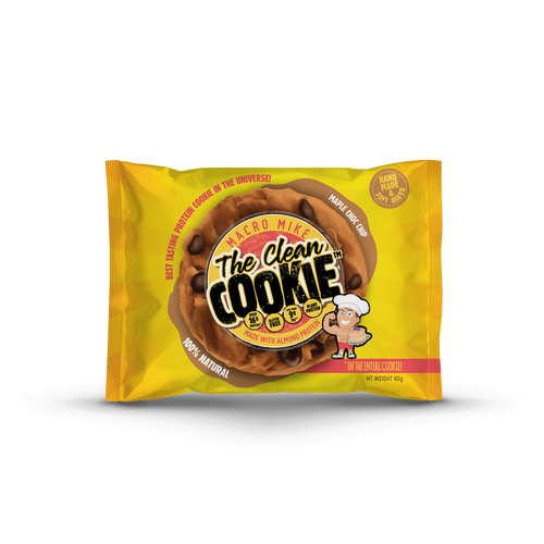 Macro Mike The Clean Cookie- Maple Chocolate Chip 60g