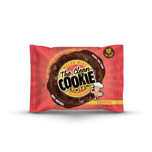 Macro Mike The Clean Cookie- Double Choc Fudge 60g