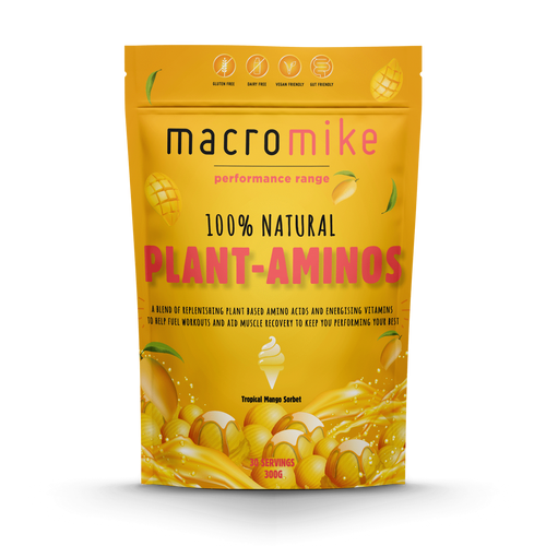 Macro Mike Plant Aminos Performance Tropical Mango 300g