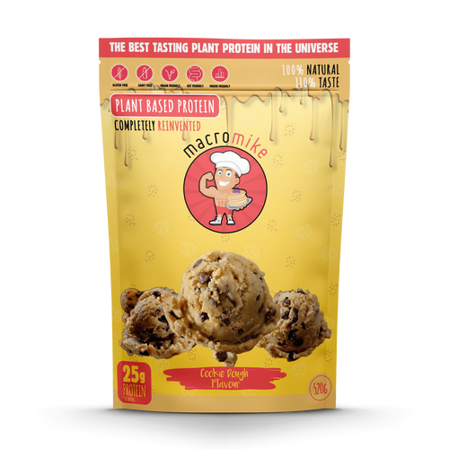 Macro Mike Cookie Dough Plant Based Protein 520g