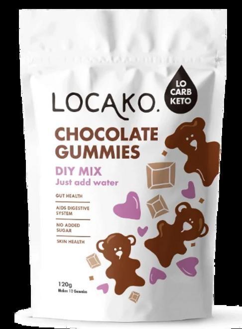 Locako Chocolate Gummies DIY Mix 120g
