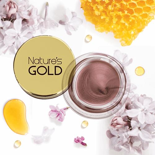 Nature's Gold Tinted Lip Balm with Manuka Honey 5g Sheer Lilac