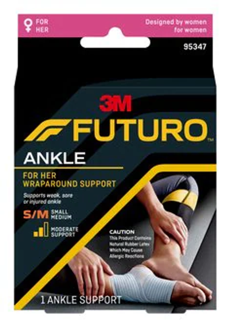FUTURO For Her Wrap Around Ankle Support 95347ENR