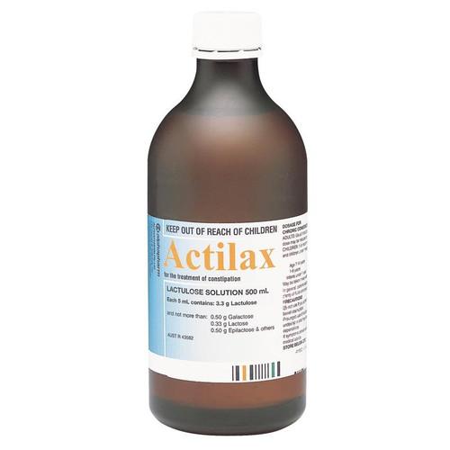 Actilax Lactulose Solution 500ml