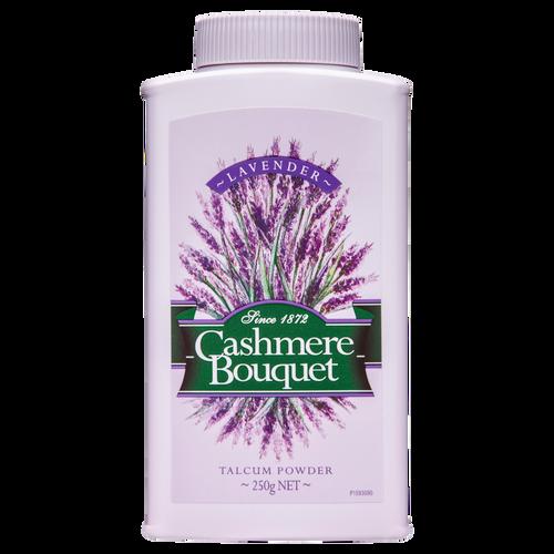 Cashmere Bouquet Talcum Powder Fresh Lavender Scent 250g