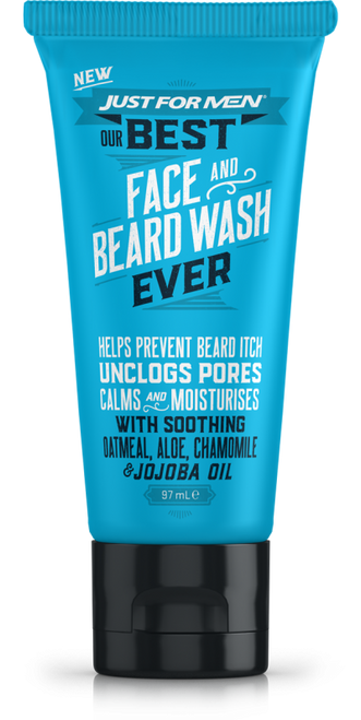 Just for Men Our Best Face & Beard Wash Ever