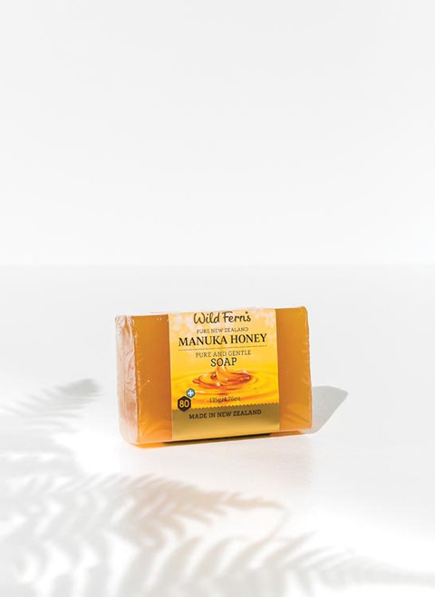 Wild Ferns Manuka Honey Pure and Gentle Soap 135g