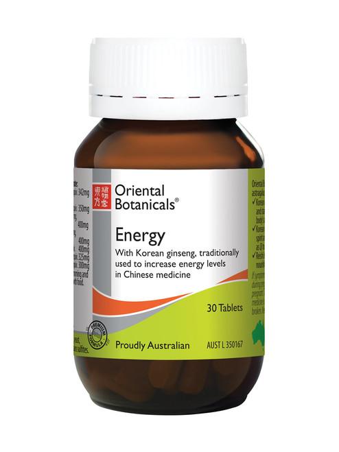 Oriental Botanicals Energy tablets