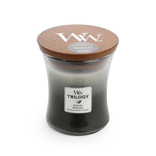 Warm Woods Trilogy Medium Candle