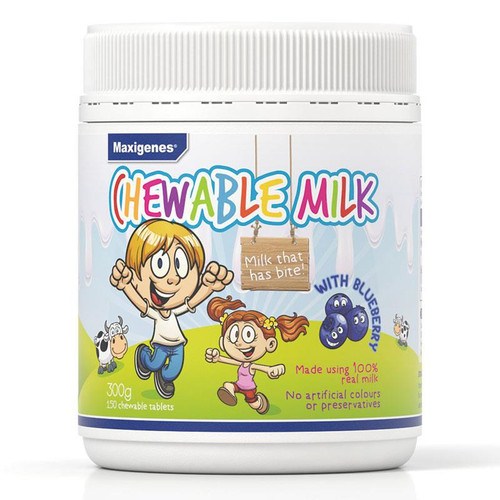Chewable Milk with Blueberry 150 tablets