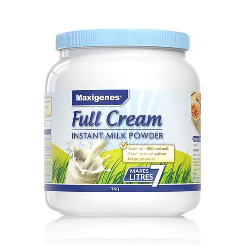 Full Cream Instant Milk Powder 1kg