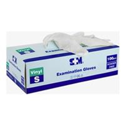 S M Nitrile Examination Gloves Powder Free 100 pack Small