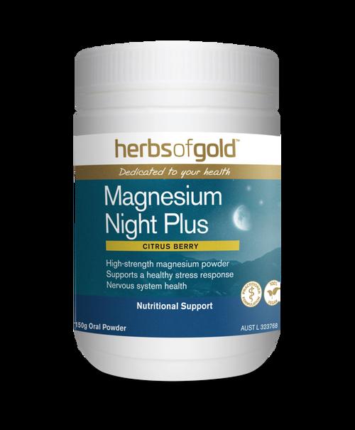 Herbs of GoldMagnesium Night Plus