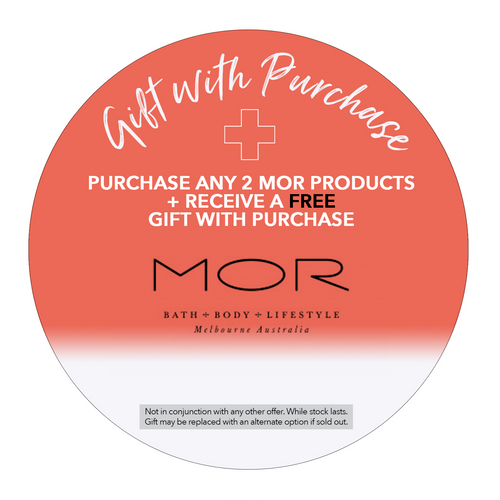 MOR GIFT WITH PURCHASE
