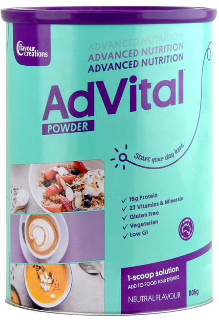 AdVital Nutritionally Complete Neutral Powder 850g
