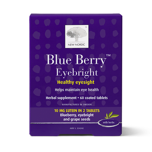 New Nordic Blue Berry™ Eyebright 60 Tablets