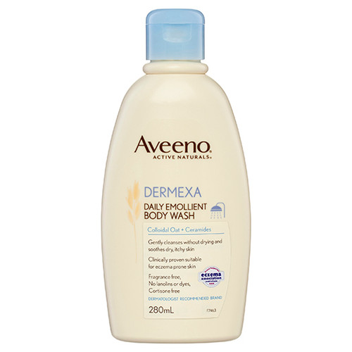 DERMEXA Daily Emollient Body Wash 280ml