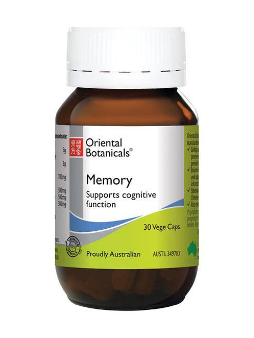 Memory 30 Vege Capsules