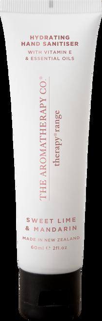 The Aromatherapy Co Hydrating Sweet Lime & Mandarin Hand Sanitiser 60ml