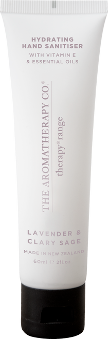 The Aromatherapy Co Hydrating Lavender & Clary Sage Hand Sanitiser 60ml