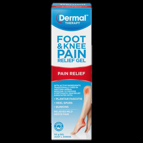 Dermal Therapy Foot & Knee Pain Relief Gel