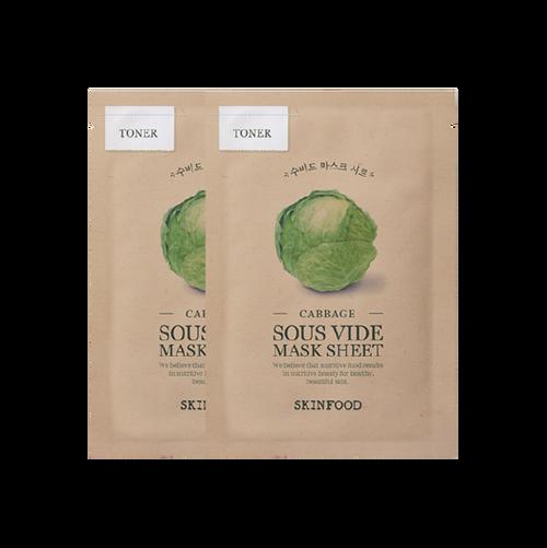 Skinfood Cabbage Sous Vide Sheet Mask 1 Pack