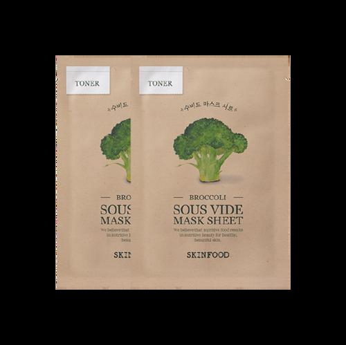 Skinfood Brocoli Sous Vide Sheet Mask 1 Pack