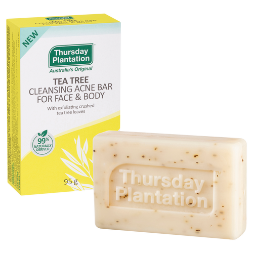 Thursday Plantation Cleansing Bar for Face and Body 95g