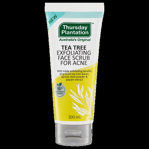 Thursday Plantation Tea Tree Exfoliating Face Scrub For Acne 100ml