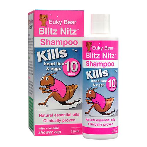 Euky Bear Blitz Nitz Shampoo 250ml