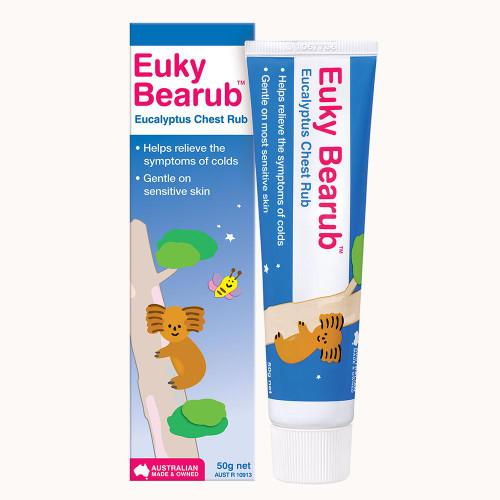 Euky Bear Eucalyptus Chest Rub 50g