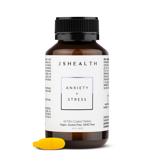JS Health Anxiety + Stress 60 Tablets