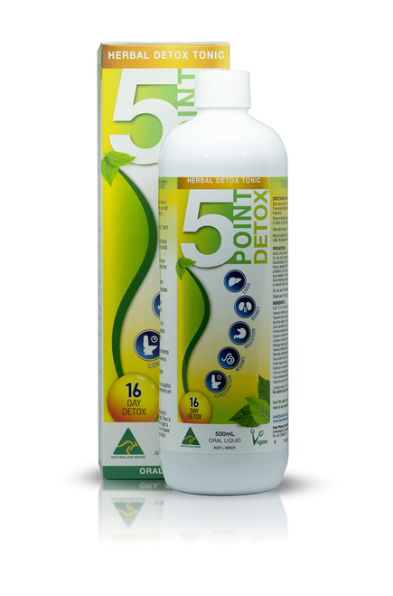 5PointDetox Herbal Detox Tonic 500ml