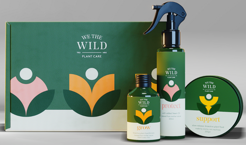 We The Wild Essential Plant Care Kit