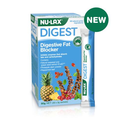 Nu-Lax Digestive Fat Blocker 30x3g Sachets
