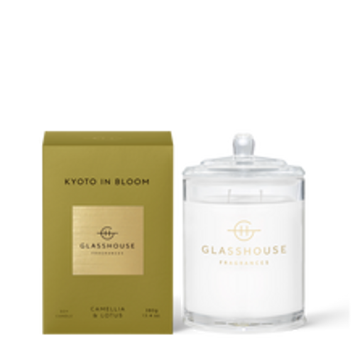 Kyoto In Bloom Soy Candle Camellia & Lotus 380g