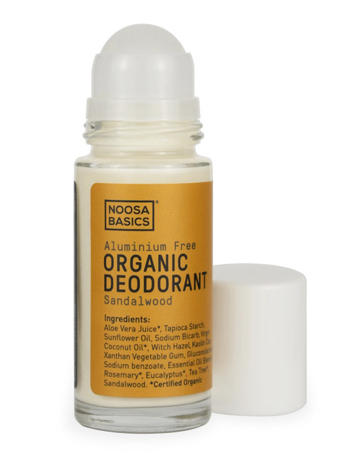 NOOSA BASICS Organic Roll-On Deodrant 60g