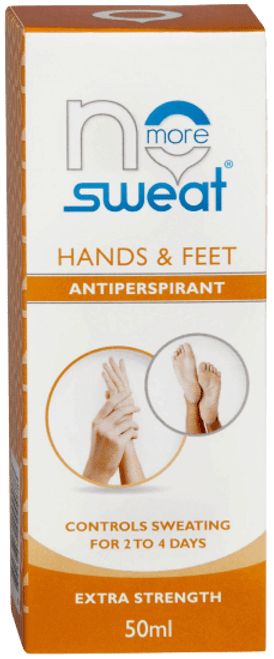 No More Sweat Hands & Feet Antiperspirant 50ml