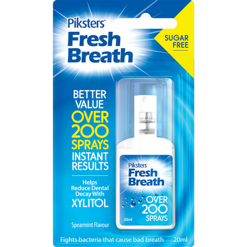 Piksters Fresh Breath Mouth Spray 20ml