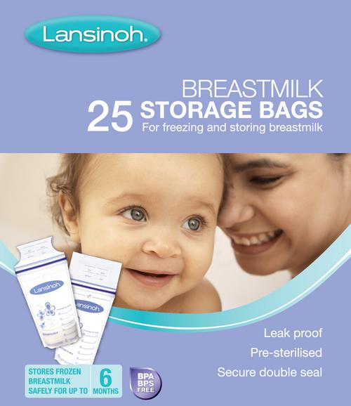 Lansinoh Breastmilk Storage Bags 25 Pack