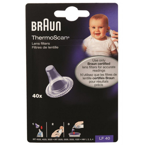 Braun Thermoscan Refills 40 Pack