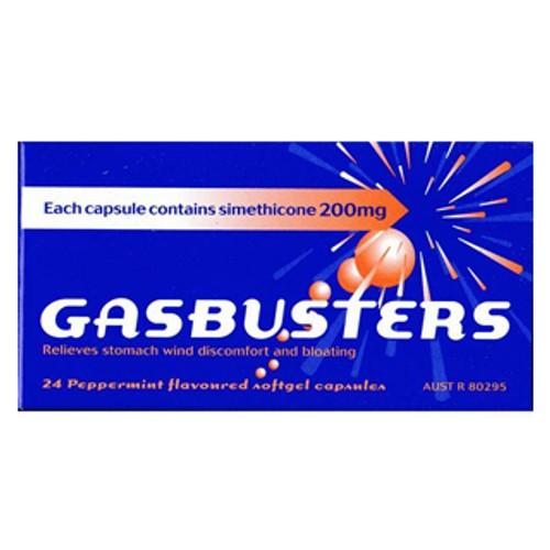 Gasbusters 24 Capsules