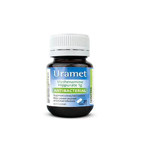 Uramet Urinary 1g 20 Tablets