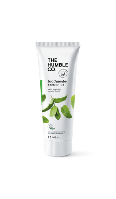 The Humble Co. Natural Toothpaste - Fresh Mint with Fluoride 75ml