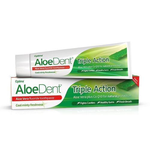 Optima AloeDent® Triple Action Fluoride Toothpaste 100ml