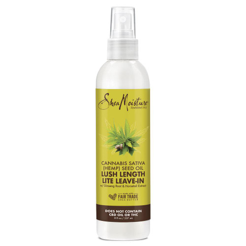 Shea Moisture Cannabis Sativa Seed Oil Lush Length Lite Leave In 237ml